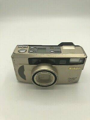 Nikon One Touch Zoom 90 AF Quartz Date 35mm Point & Shoot Film Camera