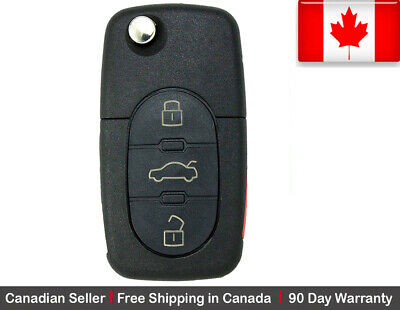 1 New Replacement Remote Key Fob 3 Button For Volkswagen.***Read Description***