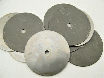 """Round Steel 6-7 Oz. Weight Ballast for Table Lamp Base 4-7/8"""" Diameter lot of 10"""