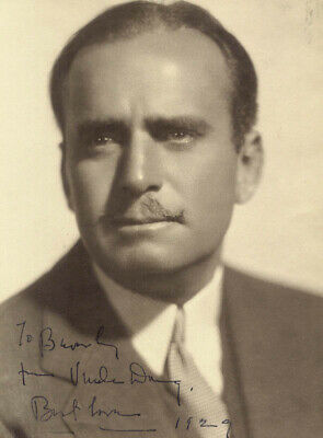 Douglas Fairbanks Sr. - Autographed Inscribed Photograph 1929