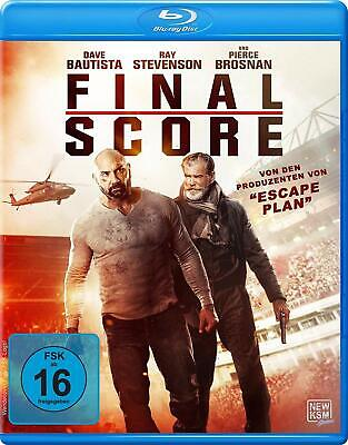 Final Score * Pierce Brosnan * Dave Bautista * Blu-ray