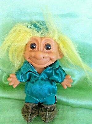 Russ Troll Doll Peter Pan Storybook Fairytale series collectable 5 inch