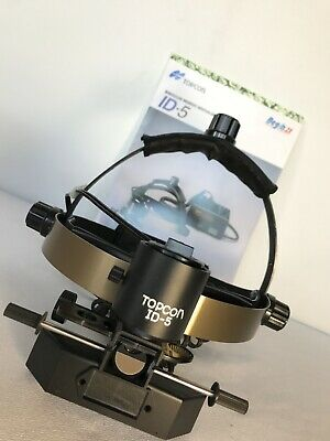 Topcon ID-5 BIO Binocular Indirect Ophthalmoscope Excellent Condition
