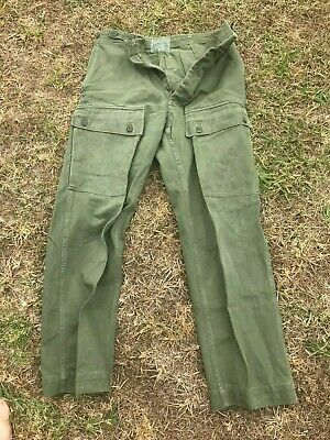 Australian Army green cargo pants AUTHENTIC Pair 2 of 2