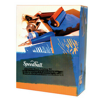 Speedball Art Products 3472 Deluxe Block Printing Kit