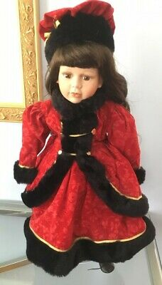 As New Large Approx 55cm Collectable Porcelain doll
