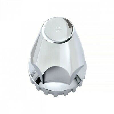20x 33Mm Chrome Plastic Thread-On Nut Cover With Flange