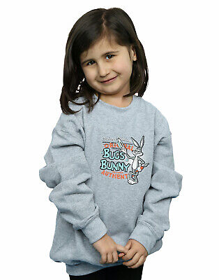 Looney Tunes Girls Vintage Bugs Bunny Sweatshirt