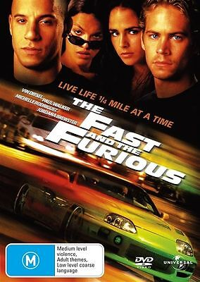 The Fast And The Furious (DVD, 2005)*VGC*R4*