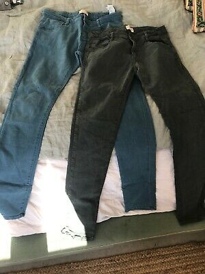 Zara Boys Trousers, Age 13-14 2 Pairs Excellent Condition.