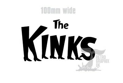 Sixties 60s mod bands 60s scooter side panel toolbox .. The Kinks Sticker