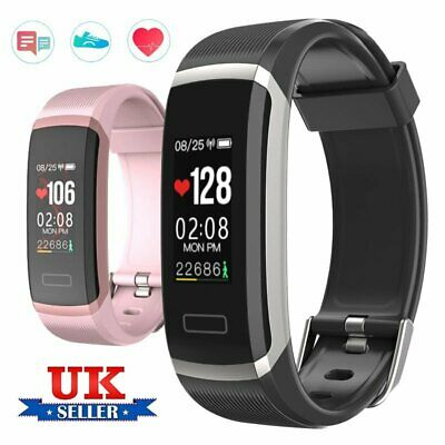 Fitness Smart Watch Activity Tracker Fitbit Android iOS Heart Rate Women Kids UK