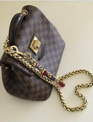 Dolce And Gabbana Gold Metal Detachable Bag Chain Strap Rare Solid Piece. Used