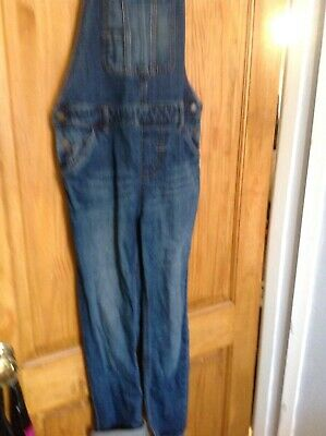 Childrens Fat Face Denim Dungarees Age 10'11
