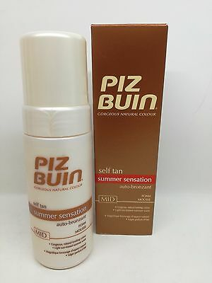 Piz Buin Self Tan Summer Sensation Autobronzants Mousse mi 125 ML