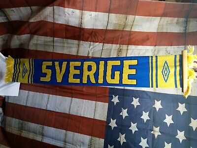 Football Scarf - Umbro - Blue/Yellow - Sverige Sweden