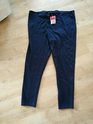M&S New Black Trousers With Tags Size 22