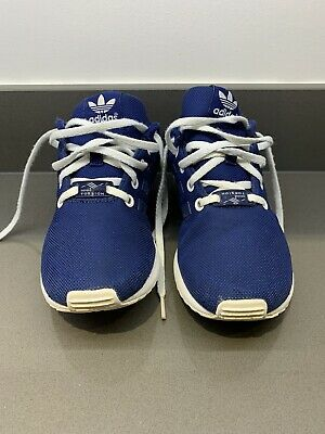 Kids Navy Adidas Torsion Trainers Size Uk 3