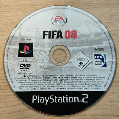 BOXED - FIFA 08 (Sony PlayStation 2, 2007) WITH MANUAL