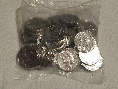 10p COINS - 2017 - FULL SEALED BAG - UNCIRCULATED - BRITISH COIN HUNT