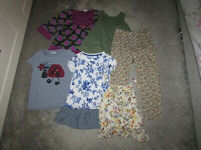 6 items of girls Next 7 / 7-8 years clothing - Tops Tshirt Blouse trousers
