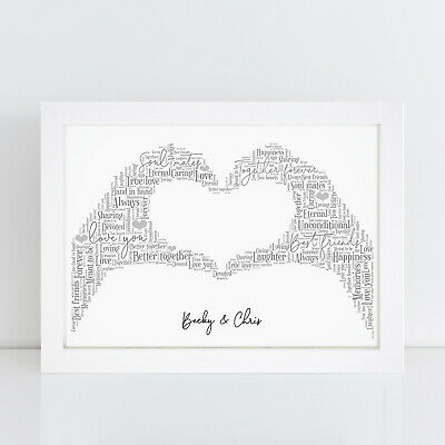 Personalised Valentines Gifts For Boyfriend Girlfriend Husband Wife Him Her