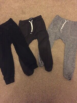 Next Boys 4-5 Years Joggers X 3