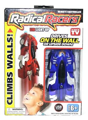 Remote Controlled Radical Racers Wall Climbing Car and Upside Down NIP
