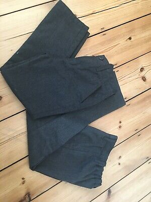 Two Pairs Of Grey School Trousers Boys - 7 Years Next And Matalan