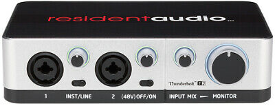 Resident Audio T2 - Thunderbolt Audio Interface