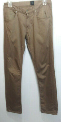 Tiger of Sweden 34x34 Iggy Mens Pants Chinos Trouser Tapered  Gray Curved Leg