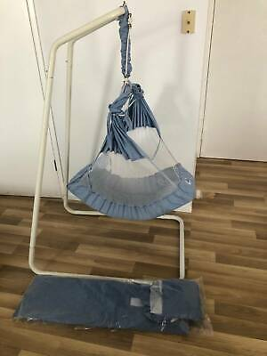 Amby Baby Hammock Swing Bouncer with brand new spare sling and mattress