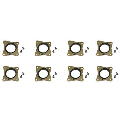 10X(Upgraded Nema 17 Stepper Steel And Rubber Vibration Dampers With Screw D8G8