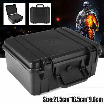 Waterproof Hard Plastic Carry Case Cam Lens Storage Tool Box Portable Organizer