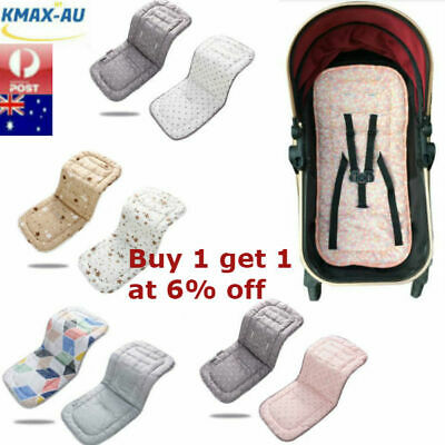 Baby Pram Stroller Buggy Liner Insert Seat Pad Soft Washable Pushchair Car Kids