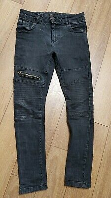 Next Boys Jeans Dark Grey Age 12