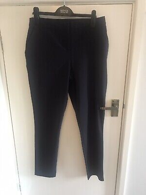 Girls Trousers Navy 15-16 Years George Exc Cond