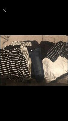 Maternity clothes size 12 bundle - HM Jeans, Dresses and tops