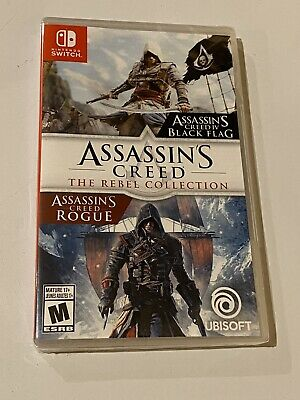 Assassin's Creed: The Rebel Collection (Black Flag/Rogue) - Nintendo Switch, NEW