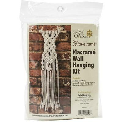 Birch MACRAME Wall Hanging Kit CELTIC BRAID 13x50cm MWHS017 Knotting/Weaving