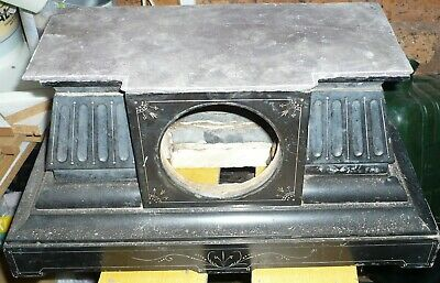 ANTIQUE SLATE CLOCK CASE FOR RESTORATION  Collect only WV14 area.