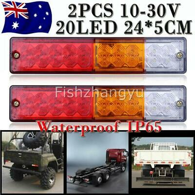Trailer Lights 20 Led Stop Tail Indicator Reflector Truck Camper Light 10-30V Oz