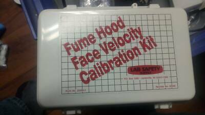New Lab Safety Supply Fume Hood Face Velocity Calibration Kit