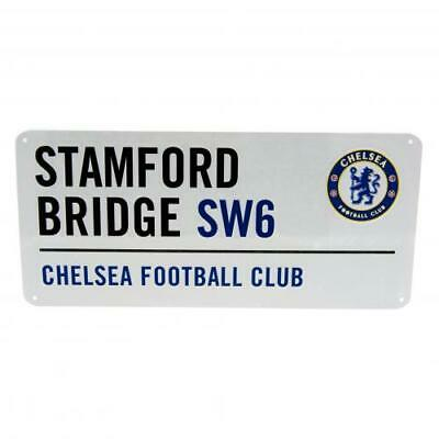 Chelsea FC F C Official Crested Metal Street Sign Gift Stamford Bridge
