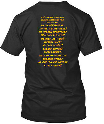 Joe Dirt No Duds Firework - Sold Here! You're Gonna Stand Premium Tee T-Shirt