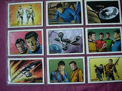 Quotable Star Trek TOS X9 Comic Book Chase cards Rittenhouse 2004 FN/VFN