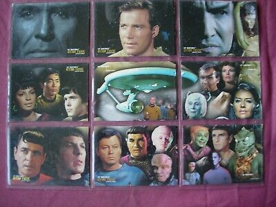 Quotable Star Trek TOS X9 Space the Final Frontier Chase cards Rittenhouse 2006