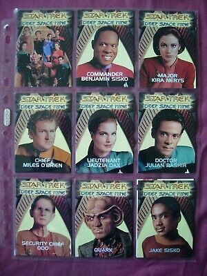 Star Trek Deep Space Nine X10 Redemption Set Chase cards RARE Skybox 1993 FN/VFN