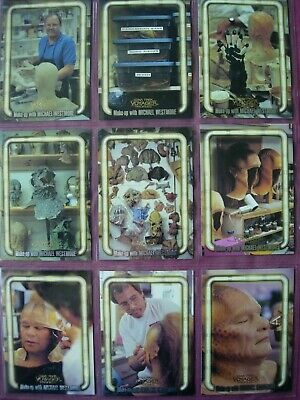 Star Trek: Voyager Profiles X9 Make-Up with Westmore Chase cards Skybox 1998 VF