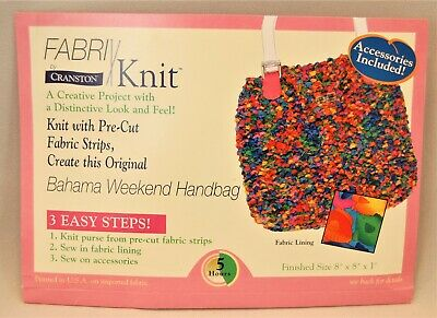 Cranston Fabri Knit Bahama Weekend Kit Lining and Handles Included